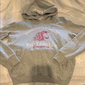 Washington State University PINK hoodie